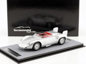 Porsche 718 RSK Presse Version 1958 silber 1:18 Tecnomodel