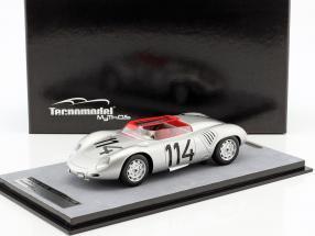 Porsche 718 RSK #114 Winner Zeltweg 1958 Wolfgang G. Berghe von Trips 1:18 Tecnomodel