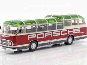 Neoplan FH 11 Porsche Renndienst rot / weiß 1:43 Schuco