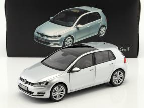 Volkswagen VW Golf VII year 2013 reflex silver 1:18 Norev