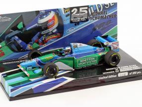 M. Schumacher Benetton B194 Weltmeister Monaco GP Formel 1 1994 1:43 Minichamps