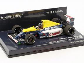 Damon Hill Williams Renault FW13B Test Silverstone formula 1 1991 1:43 Minichamps