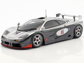 McLaren F1 GTR Adrenaline Program silver / black 1:18 Minichamps