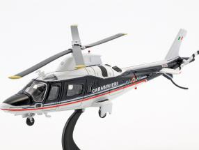 Agusta A109 helicopter year 2003 blue / white 1:72 Altaya