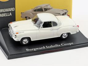 Borgward Isabella Coupe weiß 1:43 Atlas