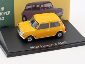 Mini Cooper S Mk3 gelb 1:43 Atlas