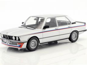 BMW M535i E12 Year 1980 silver metallic 1:18 Norev