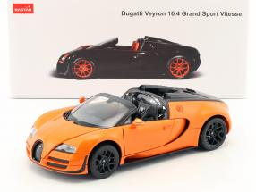 Bugatti Veyron 16.4 Grand Sport Vitesse orange / black 1:18 Rastar