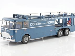 Fiat Bartoletti 306/2 Shelby Cobra Renntransporter Alan Mann Racing Ltd 1:18 Norev