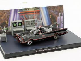 Batmobile Batman TV Series 1966 schwarz 1:43 Ixo Altaya