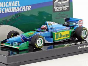 Michael Schumacher Benetton B194 #5 Australian GP World Champion formula 1 1994 1:43 Minichamps