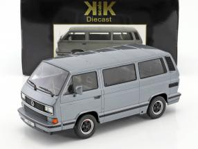 Porsche B32 based on Volkswagen VW T3 bus year 1984 Gray metallic 1:18 KK-Scale