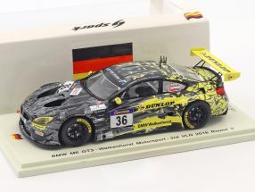 BMW M6 GT3 #36 3rd VLN 2016 Round 3 Krognes, Bouveng, Blomqvist 1:43 Spark