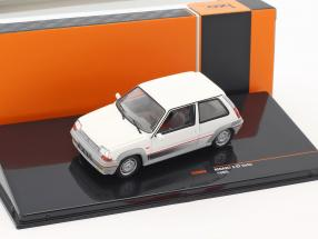 Renault 5 GT Turbo Baujahr 1985 weiß 1:43 Ixo