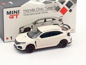 Honda Civic Type R LHD championship weiß 1:64 TrueScale