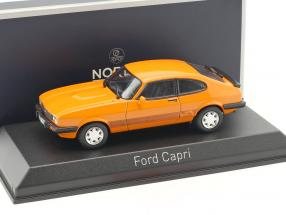 Ford Capri III Construction year 1980 orange 1:43 Norev