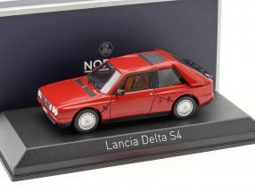 Lancia Delta S4 Baujahr 1985 rot 1:43 Norev