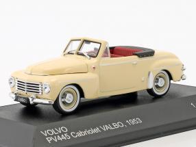 Volvo PV445 Cabriolet Valbo Baujahr 1953 beige 1:43 WhiteBox