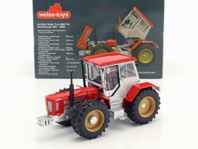 Schlüter Super Trac 2000 TVL Traktor Baujahr 1981-1986 rot / silber 1:32 Weise-Toys