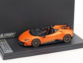 Lamborghini Huracan Performante Spyder Baujahr 2017 anthaeus orange 1:43 LookSmart