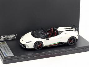 Lamborghini Huracan Performante Spyder Baujahr 2017 monocerus weiß 1:43 LookSmart