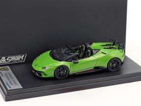 Lamborghini Huracan Performante Spyder Baujahr 2017 mantis grün 1:43 LookSmart