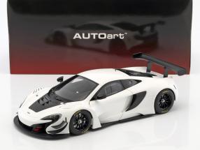 McLaren 650S GT3 Baujahr 2017 weiß / schwarz 1:18 AUTOart