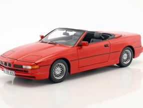 BMW 850i Cabriolet red 1:18 Schuco