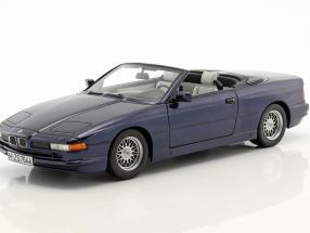 BMW 850i Cabriolet blau 1:18 Schuco