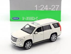 Cadillac Escalade year 2017 White 1:24 Welly
