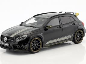 Mercedes-Benz AMG GLA 45 Yellow Night Edition night black 1:18 GT-Spirit