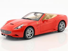 Ferrari California V8 Year 2008 red with Hardtop 1:18 HotWheels Foundation