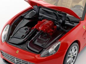 Ferrari California V8 Year 2008 red with Hardtop   Foundation