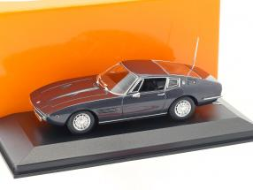 Maserati Ghibli Coupé 1969 brown metallic 1:43 Minichamps
