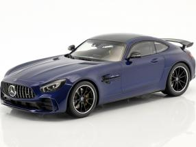 Mercedes-Benz AMG GTR year 2017 blue metallic 1:18 Minichamps