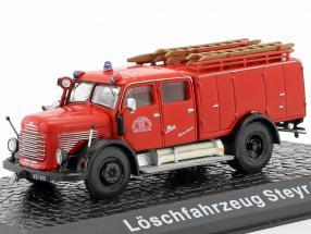 Steyr 380 Feuerwehr Bregenz rot 1:72 Atlas
