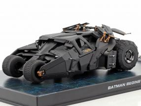 Batmobile from the Film Batman Begins 2005 black 1:43 Ixo Altaya