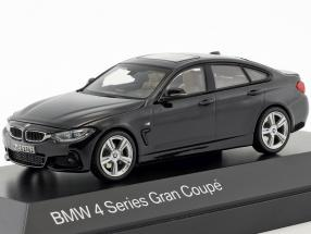 BMW 4er 4 Series (F36) Gran Coupe black 1:43 Kyosho