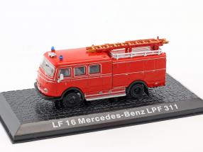 Mercedes-Benz LF 16 LPF 311 fire Department red 1:72 Altaya