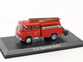Berliet GAK TLF Feuerwehr Baujahr 1965 rot 1:72 Altaya