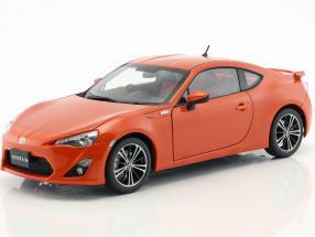 Toyota GT 86 Limited Asian Version RHD orange 1:18 AUTOart