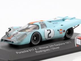 Porsche 917K #2 Winner 24h Daytona 1971 Rodriguez, Oliver 1:43 CMR