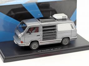 Volkswagen VW T3 Traveller Jet Baujahr 1979 anthrazit / silber 1:43 AutoCult