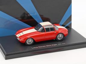 Lotus Eleven Ghia Aigle Baujahr 1958 rot / weiß 1:43 AutoCult