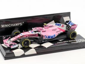 Esteban Ocon Force India VJM11 #31 China GP Formel 1 2018 1:43 Minichamps