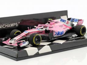 Esteban Ocon Force India VJM11 #31 Chinese GP formula 1 2018 1:43 Minichamps