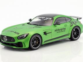 Mercedes-Benz AMG GT-R Driving Academy 2017 green metallic 1:18 Minichamps