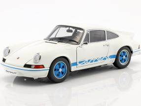 Porsche 911 Carrera RS 2.7 Year 1973 white / blue 1:18 AUTOart
