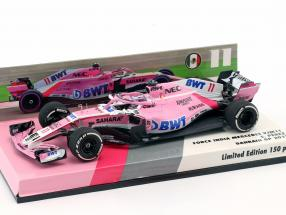 Sergio Perez Force India VJM11 #11 bahrain GP formula 1 2018 1:43 Minichamps
