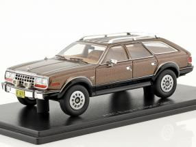 AMC Eagle Wagon Baujahr 1981 braun metallic 1:43 Neo